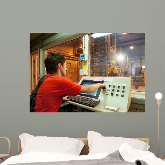 Factory Operator Wall Decal
