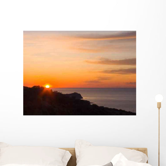 Sunrise Wall Decal Design 1