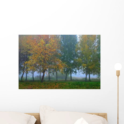 Russian Forest Wall Decal Design 2