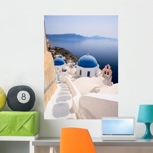 Santorini Wall Decal