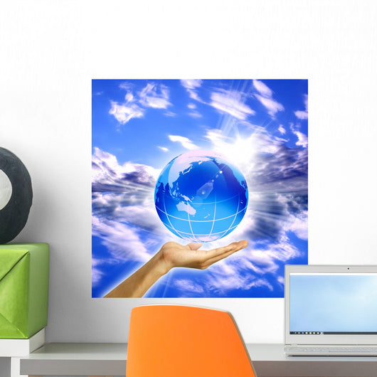 Sky Planet Wall Decal