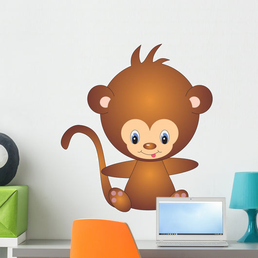 Monkey Wall Decal Design 1