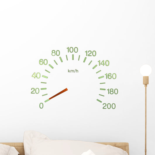 Speedometer Wall Decal
