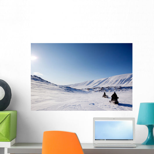 Northern Winter Landscape Wall Decal