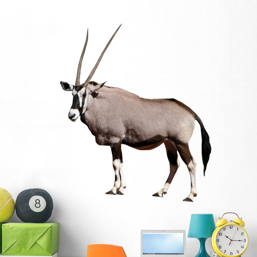 Gemsbok African Antelope Wall Decal