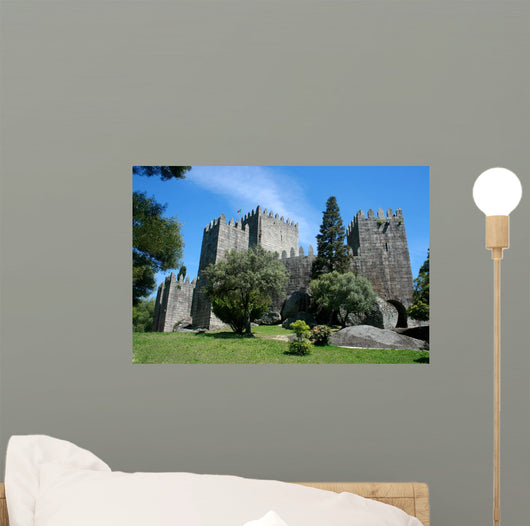 Castle Wall Decal Design 1