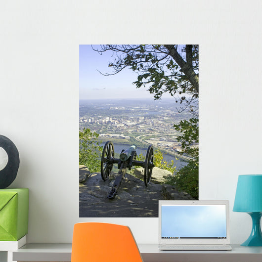 Civil War Canon Lookout Wall Decal