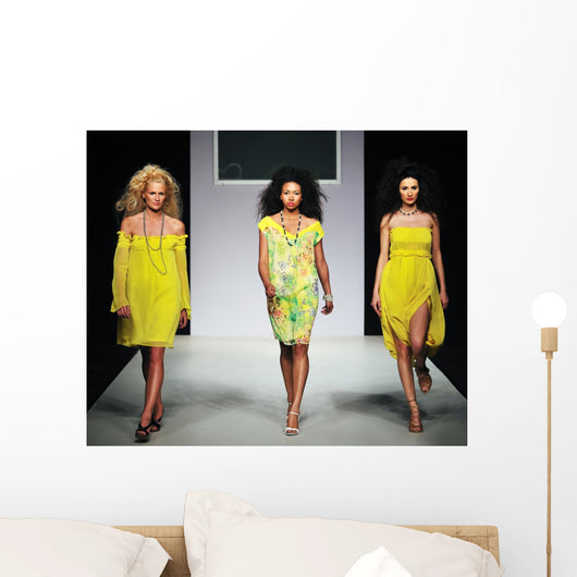 Fashion Show Wall Decal