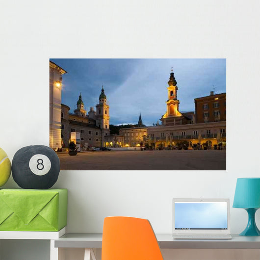 Salzburg and Sunset Wall Decal
