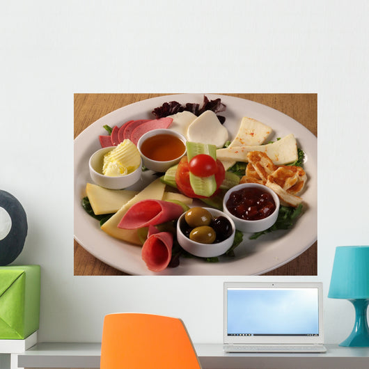 Breakfast Plate Wall Decal
