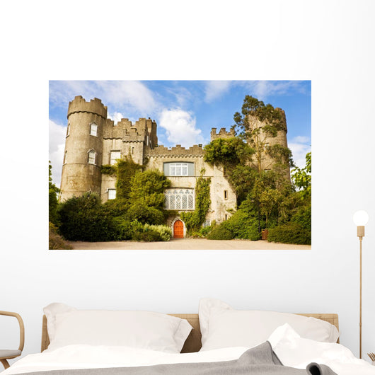 Medieval Irish Castle Wall Decal
