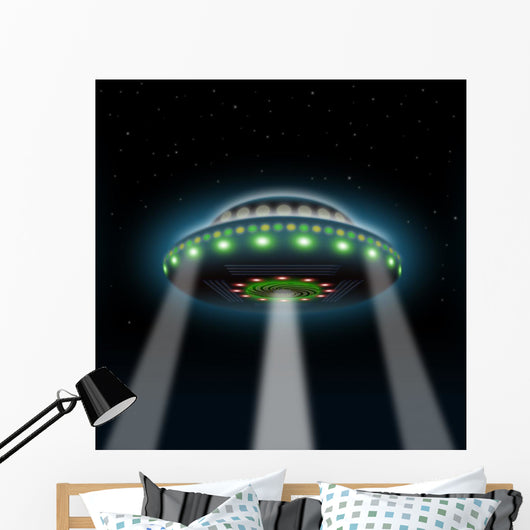 Ufo Wall Decal