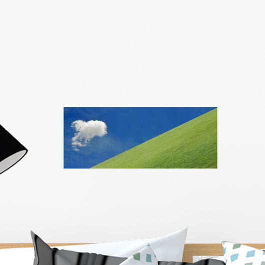 Heaven My Lawn Wall Decal
