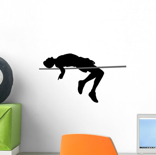 High Jump Wall Decal