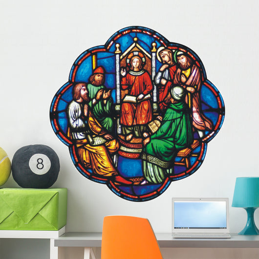 Jesus as Boy Temple Wall Decal