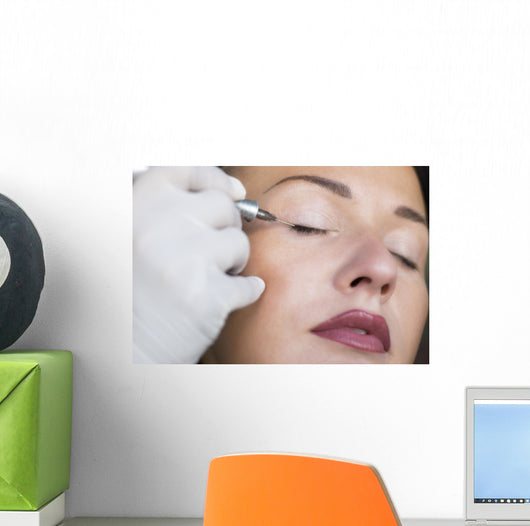 Permanent Make-up Tattoo Wall Decal