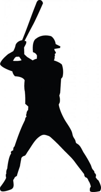 Baseball Vector Wall Decal