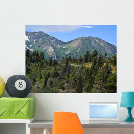 Mountain Snow Wall Decal