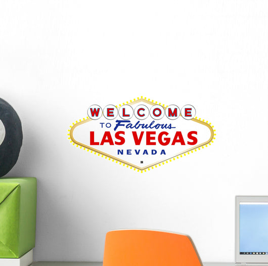 Las Vegas Sign Wall Decal