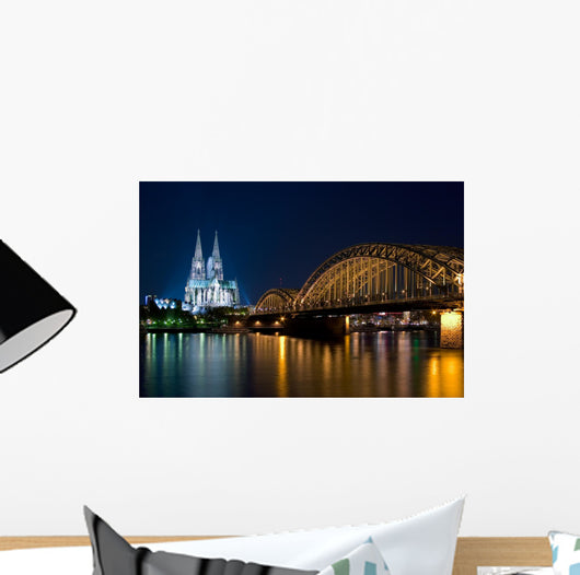 Cologne Hohenzollern Bridge Wall Decal