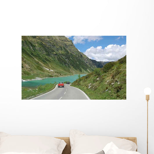 High Alpine Road Wall Decal