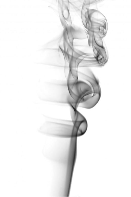 Abstract Grey Smoke