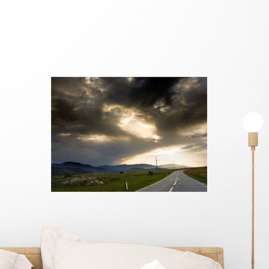 Long Way to Home Wall Decal