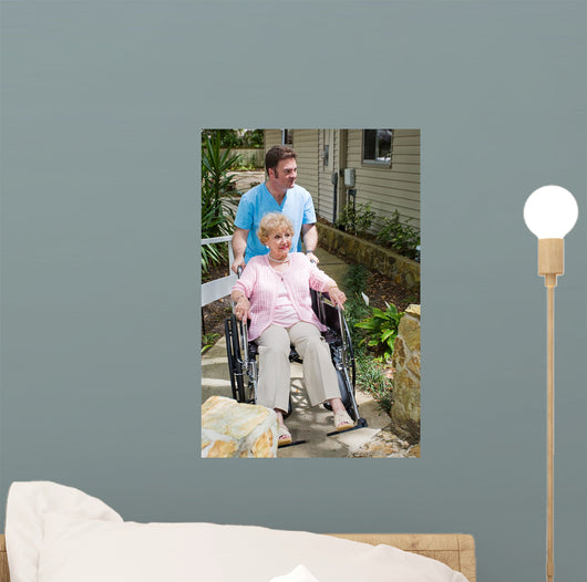Nursing Home - New Arrival Wall Mural