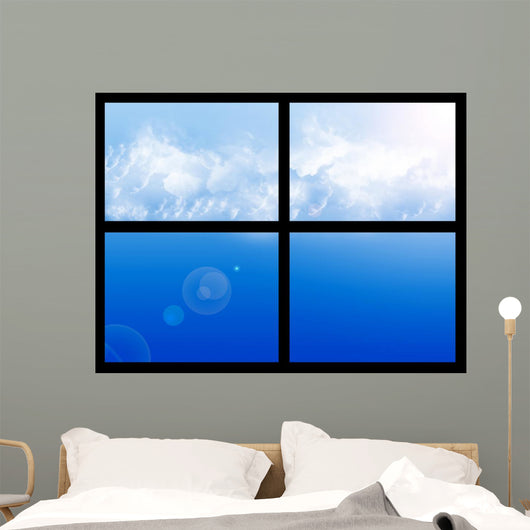 Window Sky Wall Decal