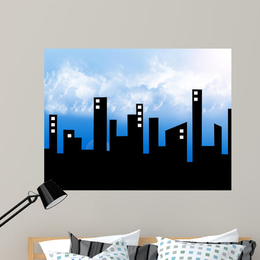 City Wall Decal Design 4