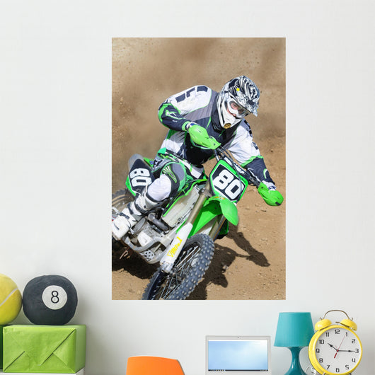 Motocross 80 Wall Decal