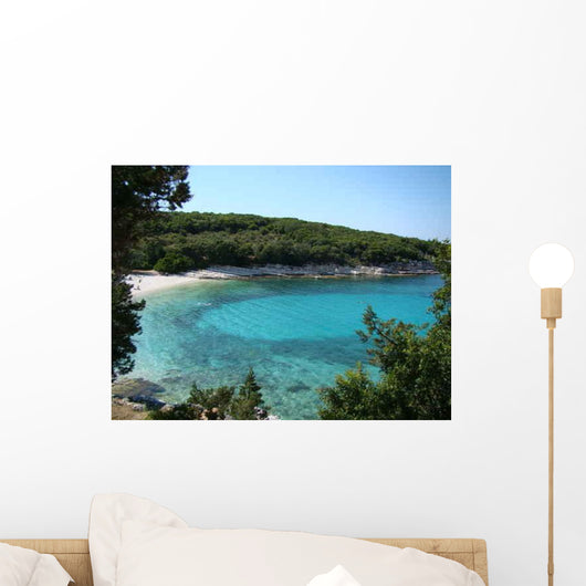Emblisi Bucht im Norden Wall Decal