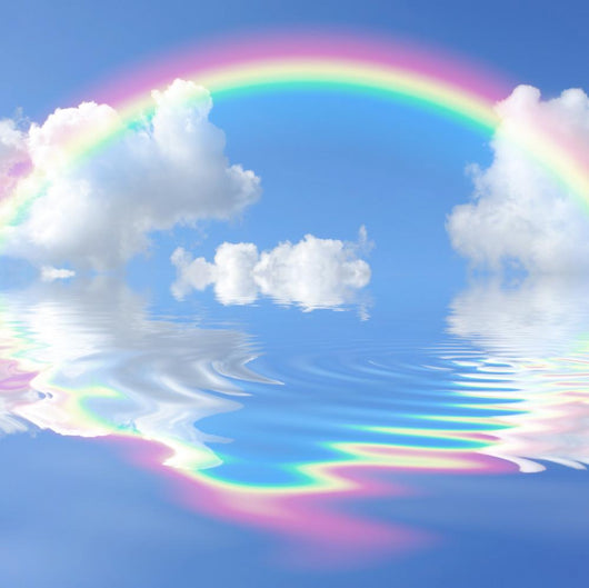 Rainbow Heaven Wall Decal