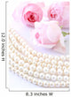 String of pearls and roses Wall Decal