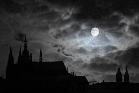 Full Moon over Transylvania Wall Decal
