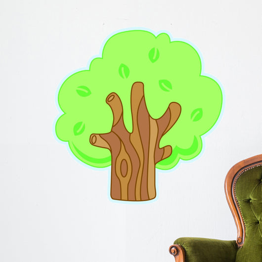 Woodlands 1 Wall Decal