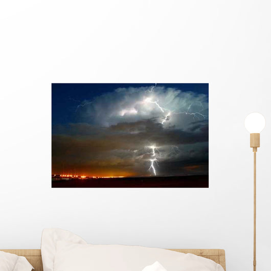 Thunderstorm Wall Decal