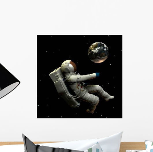 Spaceman 8 Wall Decal