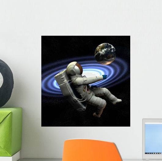 Spaceman 9 Wall Decal