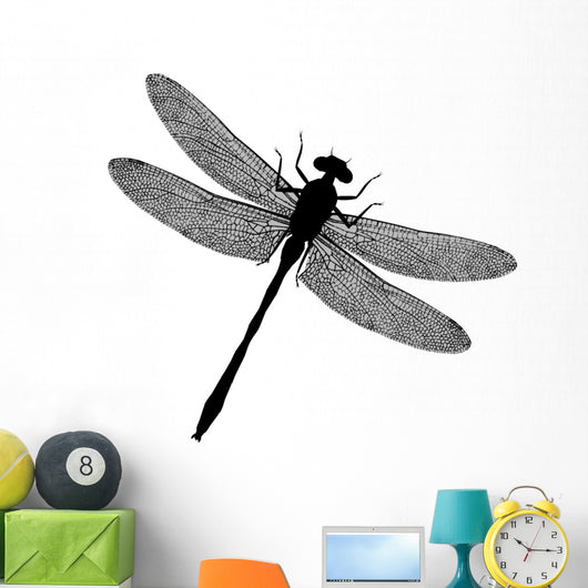 Dragonfly Silhouette Wall Decal
