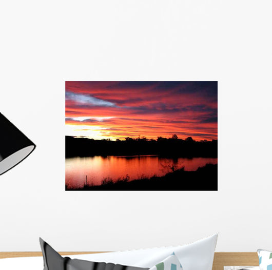 Watermelon Skies Wall Decal