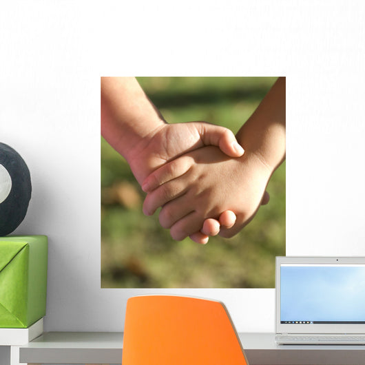 Holding Hands Wall Decal