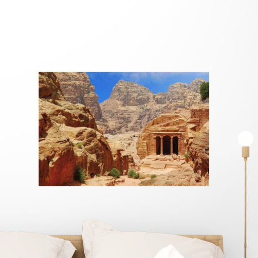 Temple Canyon Petra Wall Decal