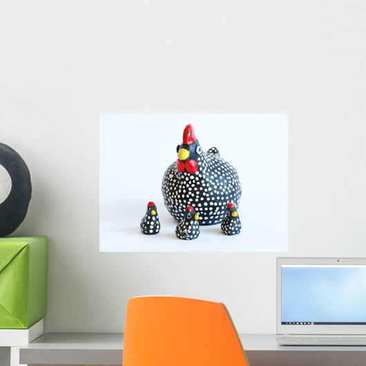Familia Gallinas Wall Decal