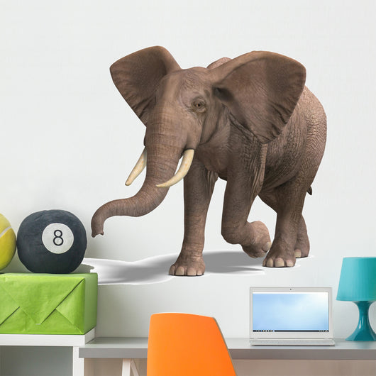 Huge Elephant Wall Decal