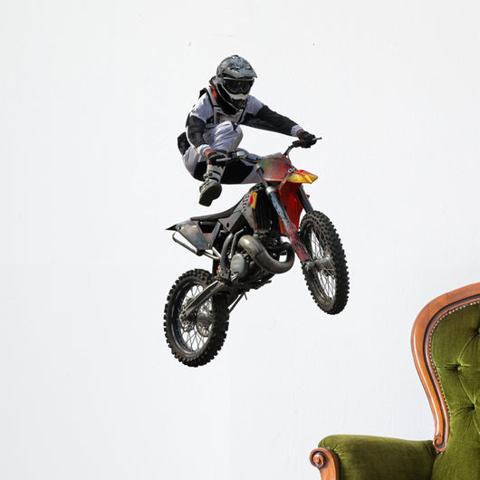 Motocross Jump Wall Decal