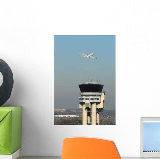 Tower Control Toulouse Blagnac Wall Decal