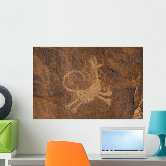 Petroglyph Moab Utah Wall Decal