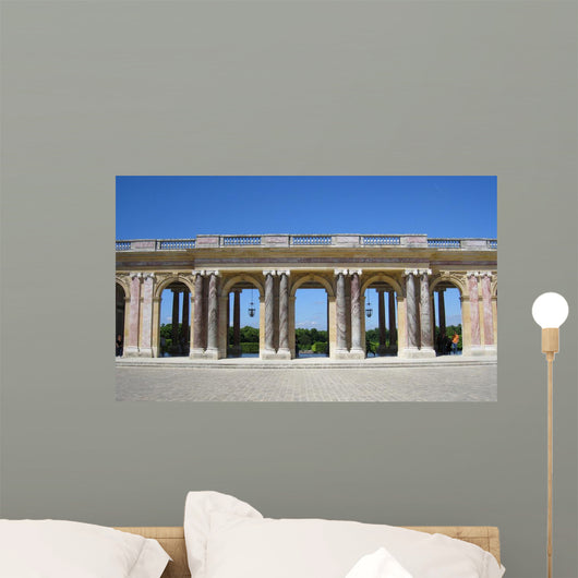 Courtyard Castle Wall Decal