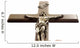 Christ Cross Wall Decal